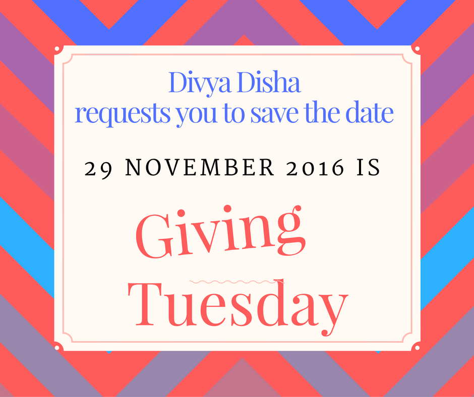 Giving Tuesday Save The Date #GivingTuesday
