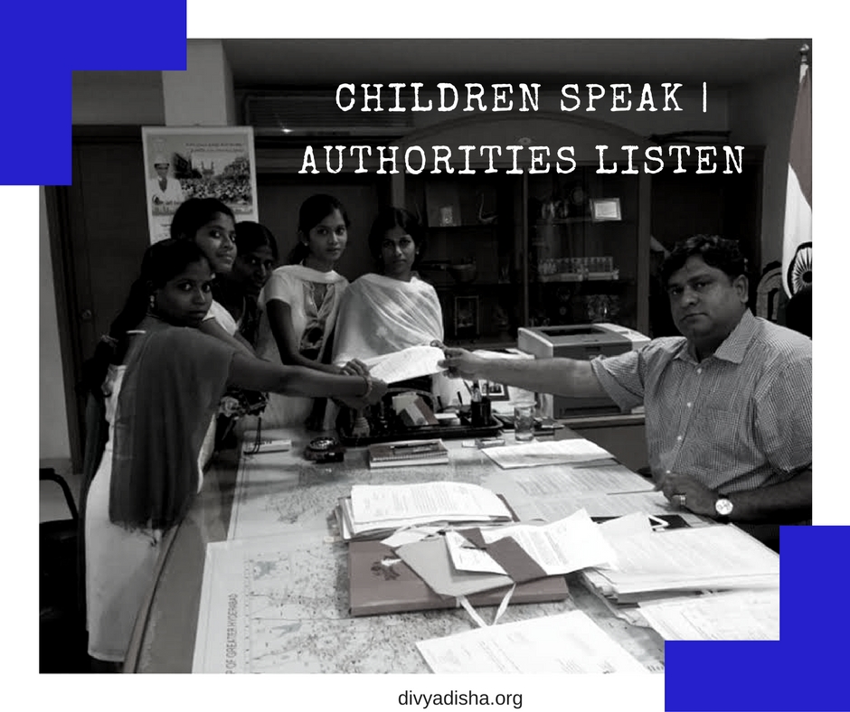 Children Speak Authorities Listen