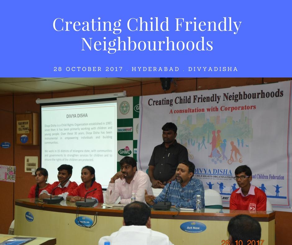 Children's Consultation With Municipal Corporators