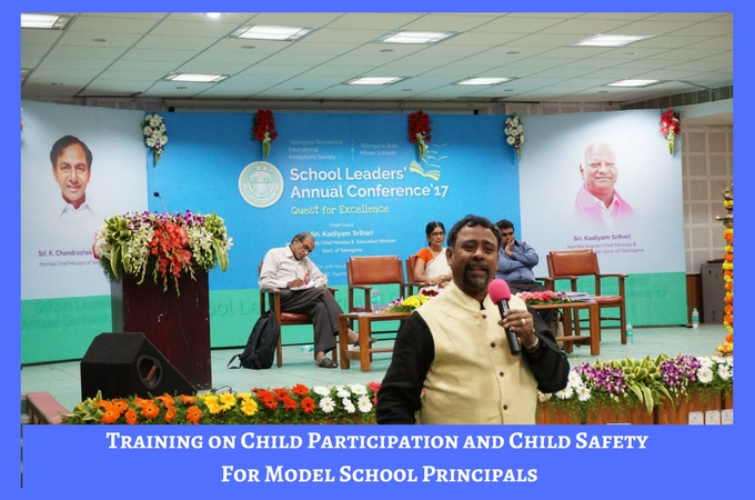 Session on Child Participation and Child Safety For Model School Principals