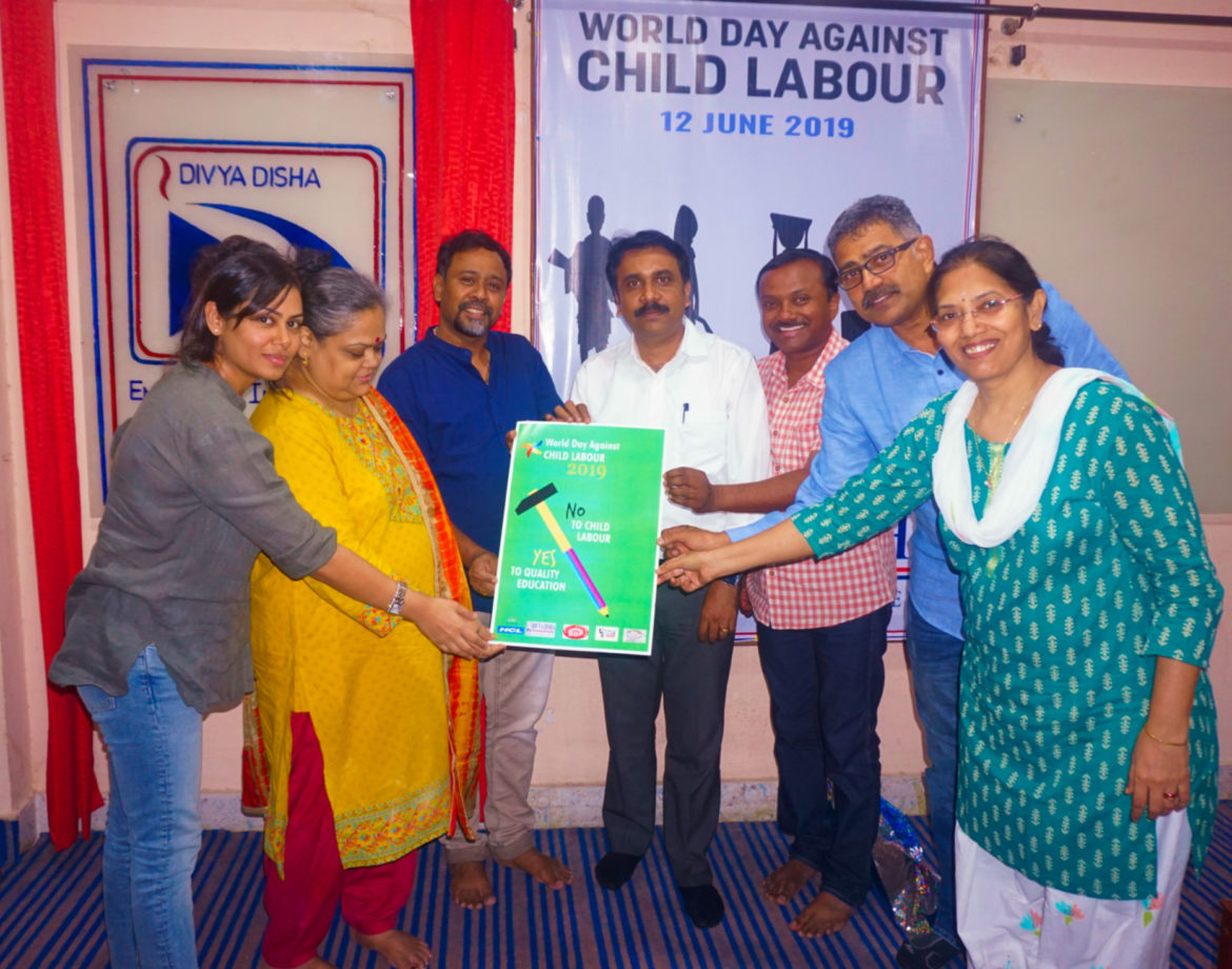 Divya Disha Board launches a campaign against child labour.