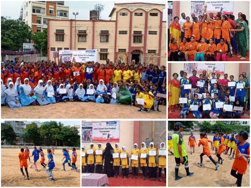 Girls from Govt.Schools mark their footprints in Football